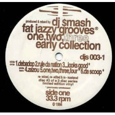"""DJ Smash - Fat Jazzy Grooves One, Two, Three. Early Collection, 12"""""""