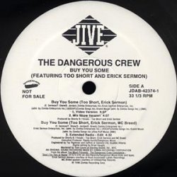 "The Dangerous Crew - Buy You Some, 12"", Promo"