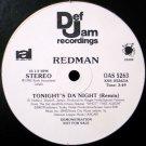 "Redman - Tonight's Da Night (Remix), 12"", Promo"