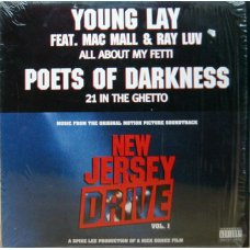 Young Lay / Poets Of Darkness - All About My Fetti / 21 In The Ghetto, 12""