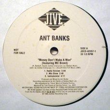"""Ant Banks - Money Don't Make A Man, 12"""", Promo"""