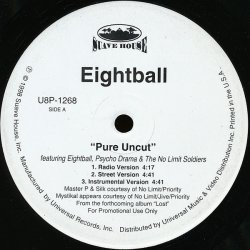 "Eightball - Pure Uncut, 12"", Promo"