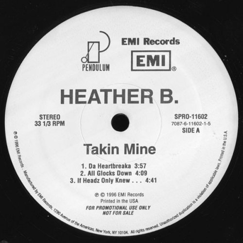 Heather B. - Takin Mine, 2xLP, Promo