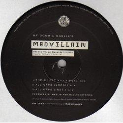 """Madvillain - All Caps / Curls (Radio Promo Version), 12"""""""