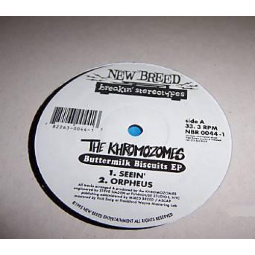 "The Khromozomes - Buttermilk Biscuits EP, 12"", EP"