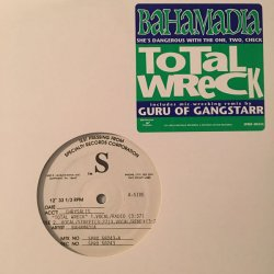"Bahamadia - Total Wreck, 12"", Test Pressing"