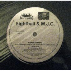 """Eightball & M.J.G. - Throw Your Hands Up / Armed Robbery, 12"""", Promo"""
