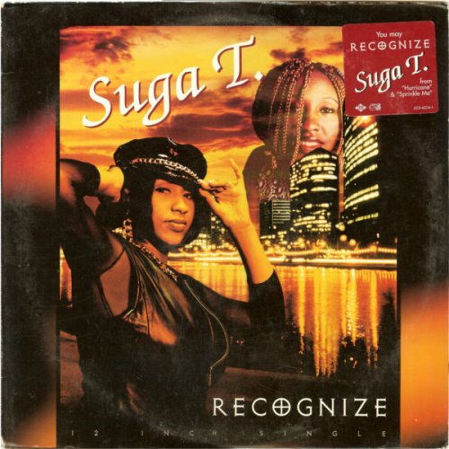 "Suga T. - Recognize, 12"", Promo"