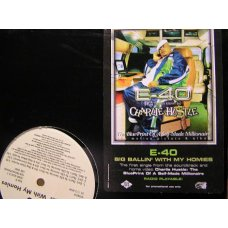 "E-40 - Big Ballin' With My Homies / Earls, That's Yo Life, 12"", Promo"
