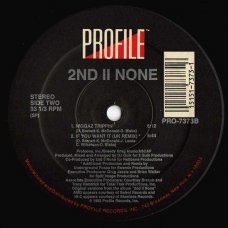 2nd II None - Let The Rhythm Take You, 12""