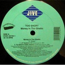 "Too $hort - Money In The Ghetto, 12"""