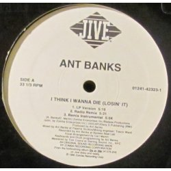 Ant Banks - I Think I Wanna Die (Losin' It), 12""
