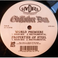 """Godfather Don - Styles By The Gram / World Premiere / Properties Of Steel, 12"""""""