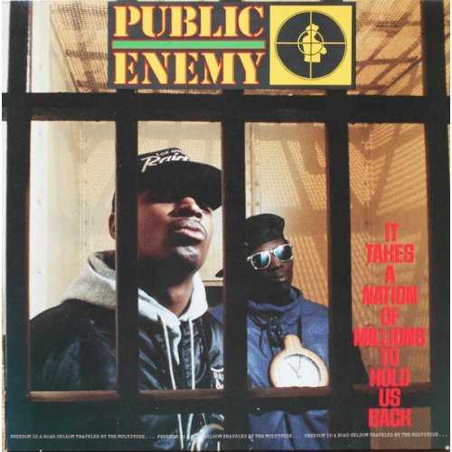 Public Enemy - It Takes A Nation Of Millions To Hold Us Back, LP