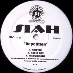 Siah - Repetition, 12""