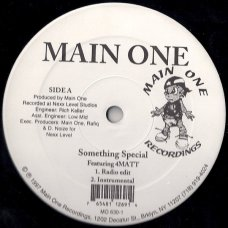 "Main One - Something Special / Cross Examination, 12"""