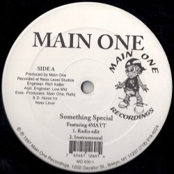 Main One - Something Special / Cross Examination, 12""