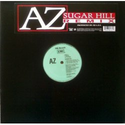 AZ - Sugar Hill (Remix), 12""