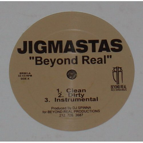 Jigmastas - Beyond Real / Dead Man's Walk, 12""