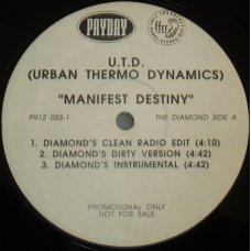 "Urban Thermo Dynamics - Manifest Destiny, 12"", Promo"