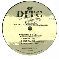 """D.I.T.C. - Dignified Soldiers / Themes, Dreams & Schemes, 12"""", Reissue"""