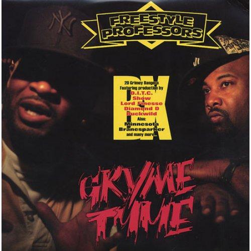 Freestyle Professors - Gryme Tyme, 2xLP