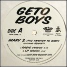 "Geto Boys Feat. Ashanti - Mary 2 (The Answer To Baby), 12"", Promo"