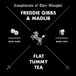 "Freddie Gibbs & Madlib - Flat Tummy Tea, 12"", EP"