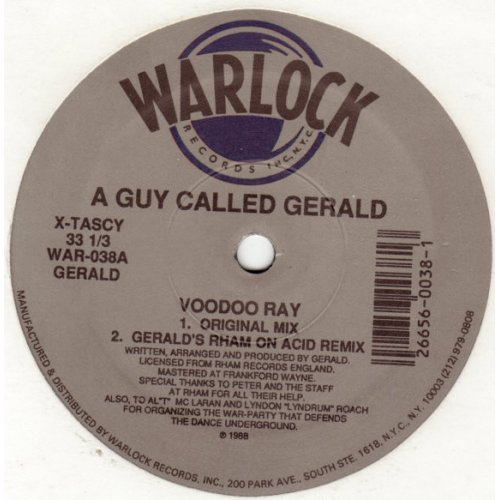 """A Guy Called Gerald - Voodoo Ray, 12"""""""