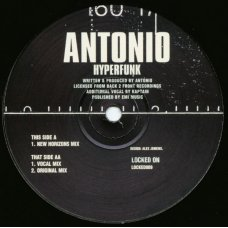 Antonio - Hyperfunk, 12""