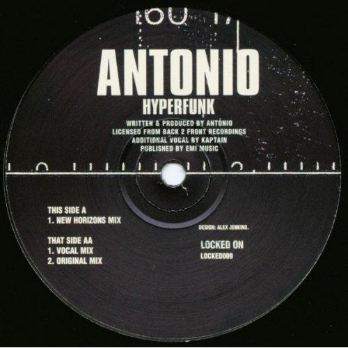 "Antonio - Hyperfunk, 12"""