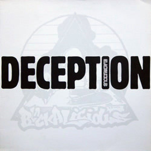"""Blackalicious - Deception, 2x12"""", Promo"""
