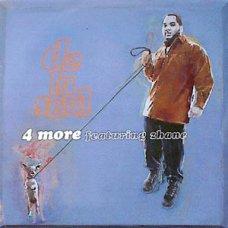 "De La Soul Featuring Zhane - 4 More, 12"", Promo"