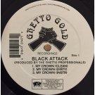 """Black Attack - My Crown / Correct Technique, 12"""""""