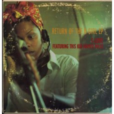 """T-Love Featuring This Kid Named Miles - Return Of The B-Girl EP, 12"""", EP"""
