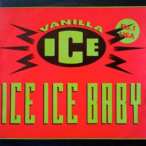 """Vanilla Ice - Ice Ice Baby, 7"""""""