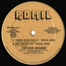 """Cipher Sound - Three Card Molly / Get Moved On, 12"""""""