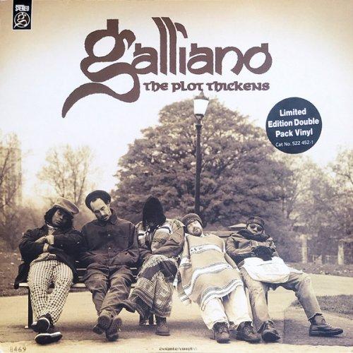 Galliano - The Plot Thickens, 2xLP