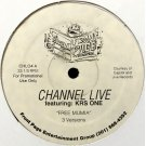 """Channel Live Featuring KRS-One - Free Mumia, 12"""", Promo"""