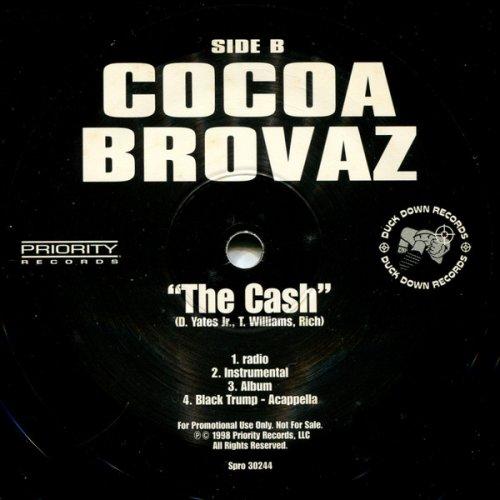 """Cocoa Brovaz - Black Trump, 12"""", Promo"""