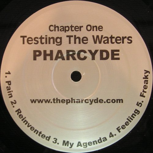"""The Pharcyde - Testing The Waters, 12"""", EP, Repress"""