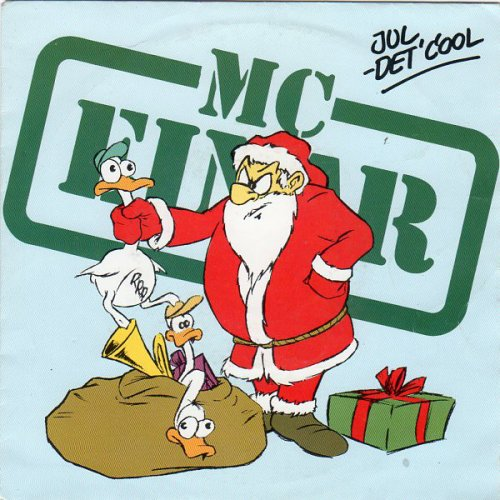 "MC Einar - Jul - Det' Cool, 7"""
