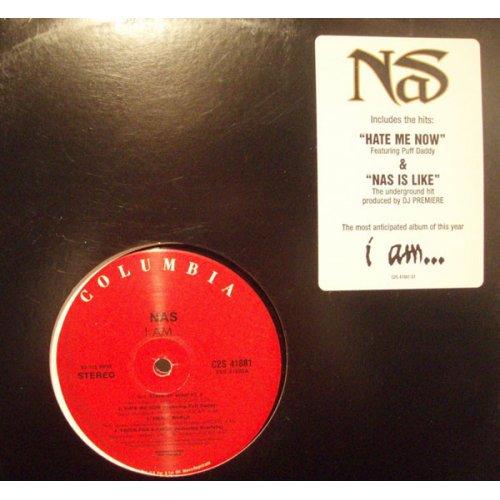 Nas - I Am..., 2xLP, Promo