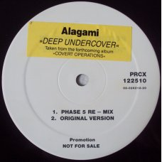 "Alagami - Deep Undercover, 12"", Single Sided, Promo"