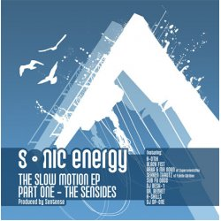"""Sonic Energy - The Slow Motion EP - Part One - The Sensides, 12"""", EP"""