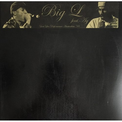 Big L Feat. AG - Last Live Performance Amsterdam '98, LP