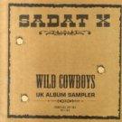 "Sadat X - Wild Cowboys UK Album Sampler, 12"", Promo, Sampler"