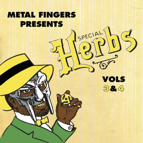Metal Fingers - Special Herbs Vol. 3 & 4, 2xLP, Reissue