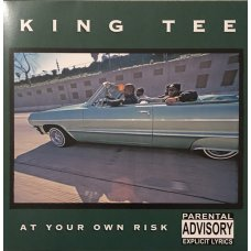 King Tee - At Your Own Risk, Black Vinyl, LP Reissue