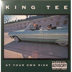 King Tee - At Your Own Risk, Black Vinyl, LP Reissue